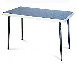 Каркас обеденного стола разборный, конусные ножки, Т156 Столешница прямоугольная 1.2 х 0.68 м, кромка ПВХ