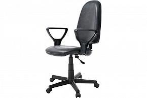 Кресло Престиж Light - кожзам черный
