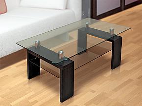 Журнальный стол стеклянный - 1